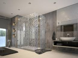 bathroom extraordinary bathroom decoration using glass high end