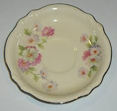 homer laughlin china virginia vintage homer laughlin virginia fluffy saucers set of 3