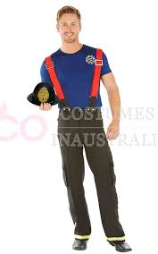 fireman costume fireman fighter fancy dress costume