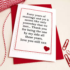 handmade wedding anniversary card by arnott cards gifts
