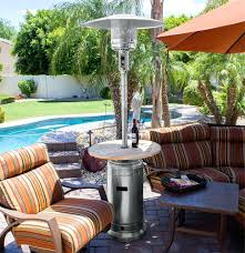 patio table heaters propane patio ideas outdoor patio heater rental chicago hampton bay