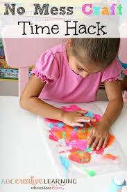 no mess craft time hacks craft activities and kid activities