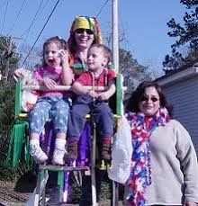 mardi gras ladders how to make a mardi gras parade ladder seat for parades