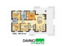 modele maison plain pied 4 chambres modele maison bois plain pied trendy maison bois avec terrasse