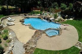 design ideas outdoor design trend 23 fabulous concrete pool deck