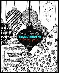 100 ideas ornaments coloring sheets printable on