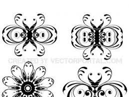 floral ornaments vector pack 2 free vectors ui