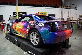 custom cadillac xlr cadillac xlr with custom flames car wrap city