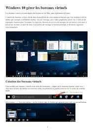 logiciel bureau virtuel calaméo windows 10 gérer les bureaux virtuels