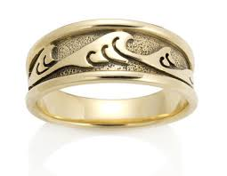 japanese wedding ring mens wide japanese wave ring david virtue jewelry