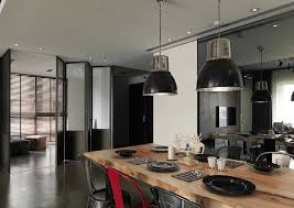 Kitchen And Dining Interior Design Asian Interior Design Trends In Two Modern Homes With Floor Plans
