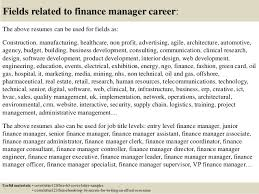 Sample Resume For Finance Executive by Top 5 Finance Manager Cover Letter Samples