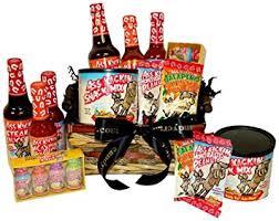 Food Gifts For Men Amazon Com Basket Kickin U0027 Sauce Gift Basket Gifts