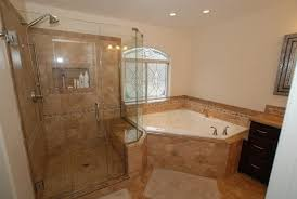 Faucets And Fixtures Orange Orange County Corner Tub Shower Bathroom Traditional With Square