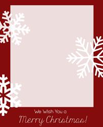 free christmas postcard template business ticket creator free