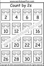 count by 2s free printable worksheets u2013 worksheetfun