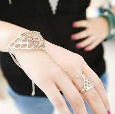 bracelet ring jewelry images B103 ring bracelet rings and bracelets attached 12pcs lot free jpg