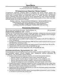 Resume Examples For Project Managers by Technical Project Manager Advice Senior Project Manager