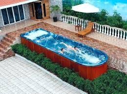 small lap pools 15 fascinating lap pool designs home design lover small lap pool lap