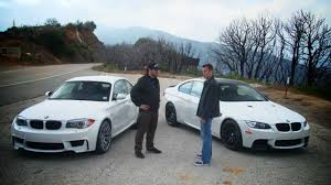 bmw 1 series m coupe vs bmw m3 youtube