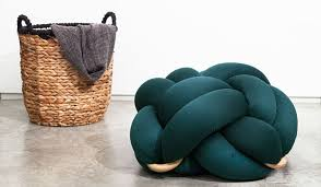 knot pillows the design of these oversized cushions was inspired by knots tied by