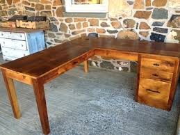 Wood L Shaped Desk L Shaped Desk Wood L Shaped Desk From The Furniture From The Barn