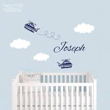 Wall Name Decals For Nursery by Aliexpress Com Buy Baby Nursery Airplane Wall Sticker Diy Custom