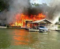 three homes destroys three homes on cedar creek lake local