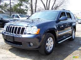 blue jeep grand cherokee srt8 2008 modern blue pearl jeep grand cherokee limited 4x4 48100093