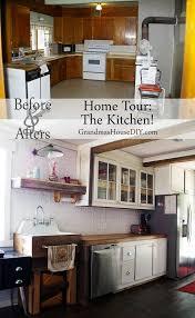 Diy Country Kitchen Ideas 82 Best Home Tour Grandma U0027s House Diy Images On Pinterest
