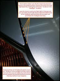 infiniti qx56 headlight replacement 2008 headlight removal moisture in headlight issue remedy