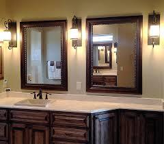 Rustic Bathroom Sconces - rustic vanity mirrors for bathroom top rustic vanity mirror diy