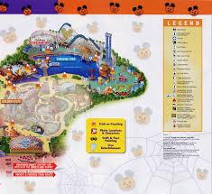 Map Of Downtown Disney Mickey U0027s Halloween Treat Disney U0027s California Adventure October