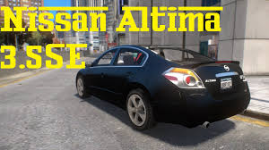 cars nissan altima nissan altima 3 5se mod gta 4 youtube