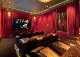 home theater curtain home theater