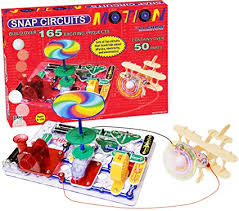 snap circuits lights electronics discovery kit amazon com snap circuits motion electronics discovery kit toys games