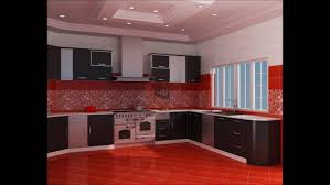Red And Black Kitchen Cabinets Black Kitchens Black Kitchens Designs Red Black Kitchen Decor