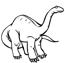Apatosaurus Dinosaur Coloring Pages Animal Coloring Pages