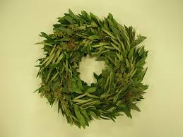 bay leaf wreath enjoyable mixed eucalyptus and bay leaf wreath extremely