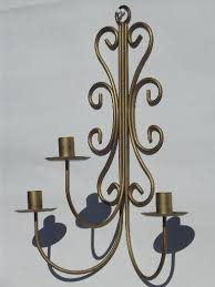 Chandelier Candle Wall Sconce Wrought Iron Wall Sconces Hanging Chandelier Candle Holders
