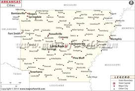state of arkansas map buy arkansas map with cities