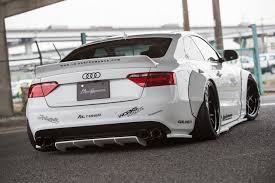 audi ah liberty walk audi a5 project is blessed by the widebody tuning