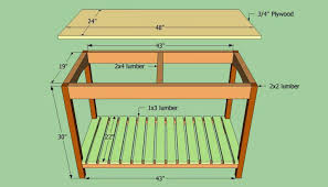 kitchen island plan build kitchen island sjusenate com