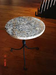 Umbrella Table Lazy Susan by Nicely Executed Absolute Black Granite Lazy Susan With Umbrella