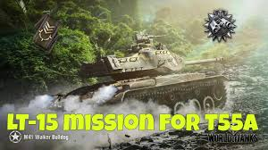 how to do mission lt 15 t55a m41 walker bulldog youtube