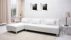 Cheap White Leather Sectional Sofa Furniture Beautiful White Leather Sectional For Your Living Room