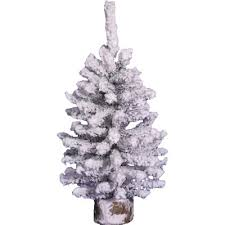 3 white artificial tree with 45 led warm white lights