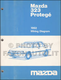1992 mazda 323 u0026 protege repair shop manual original