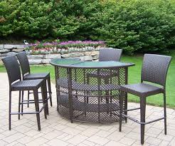 High Patio Dining Set Patio Dining Sets Patio Table Set High Patio Furniture Sets