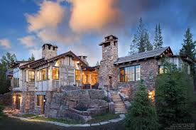 mountain home interior design a rustic mountain retreat perfect for entertaining in big sky